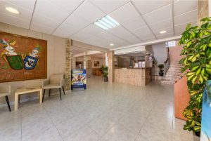 Rezeption desHotel - Hotel Costa Mediterraneo, El Arenal - Mallorca