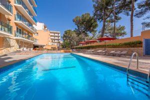 Aussen Hotelpool - Hotel Costa Mediterraneo, El Arenal - Mallorca